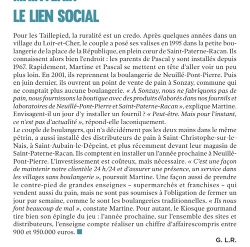 BOULANGERIE TAILLEPIED - PRIX SPECIAL DE L'ARTISANAT