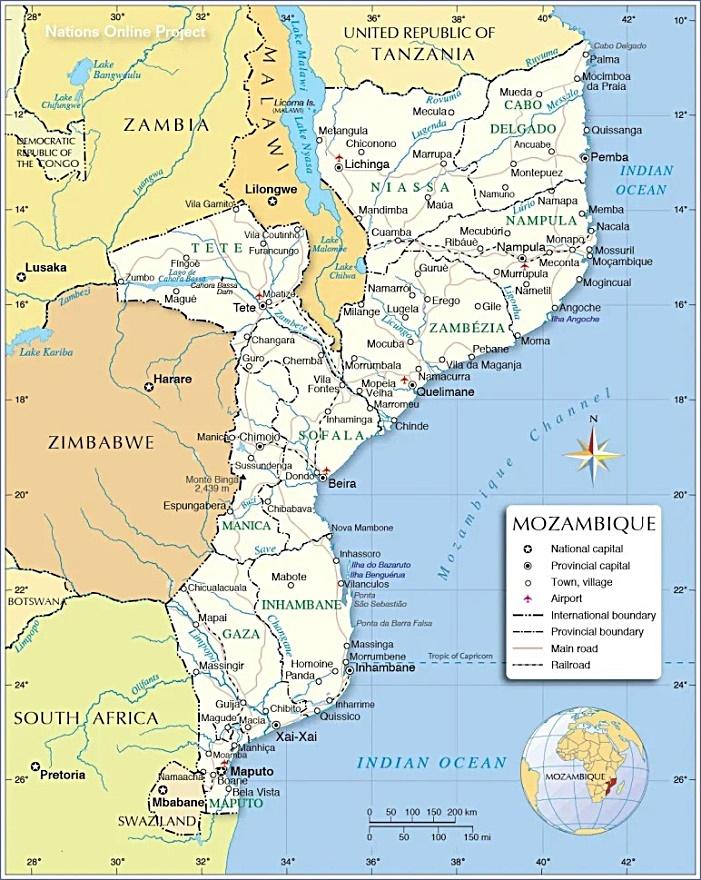 Mozambique 1 sur 4