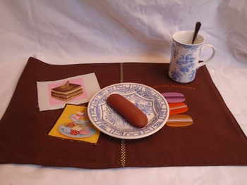 set de table marron01