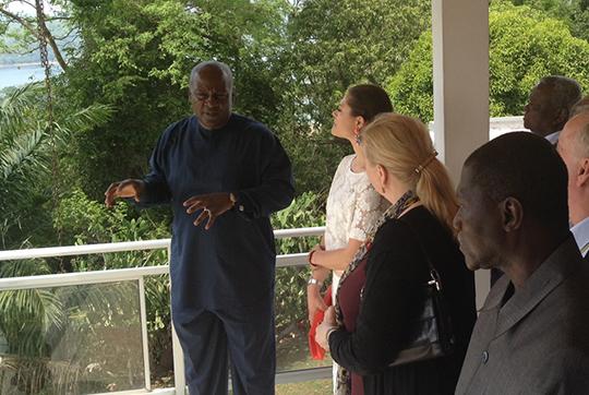 Vistoria au Ghana