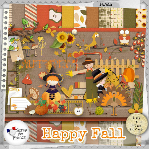 Happy Fall de LEAUGOSCRAP