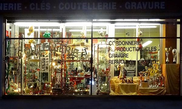 Vitrines de nuit à Châtillon sur Seine...
