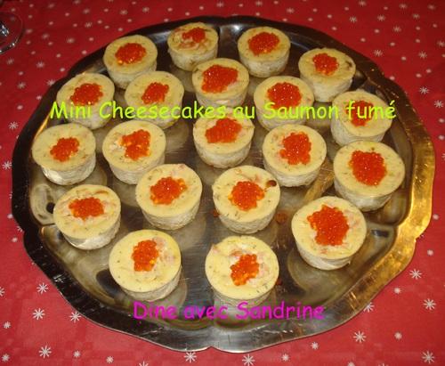 Des Mini Cheesecakes aux Tomates confites et Pesto
