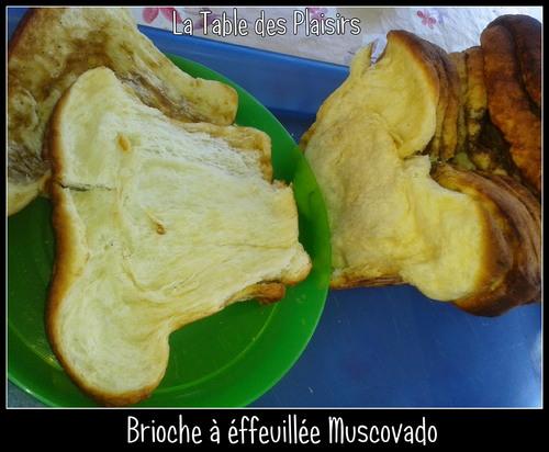 BRIOCHE A EFFEUILLÉE MUCOVADO