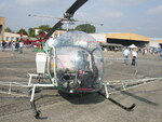 Bell 47G F-GDPO épandage agricole