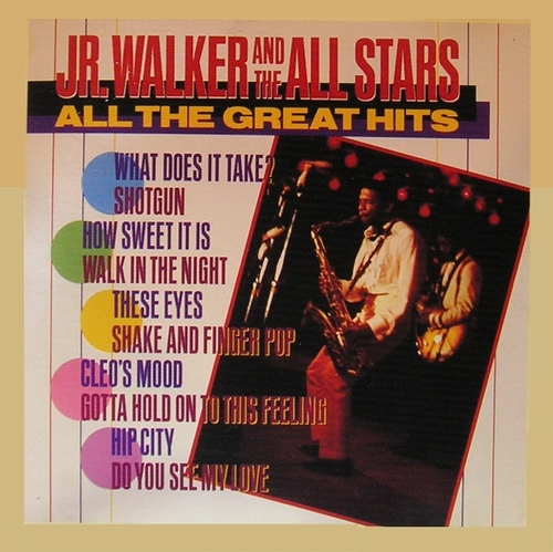 "Jr. Walker : CD "" All The Great Hits "" Motown Records 3746352972 [ US ]"