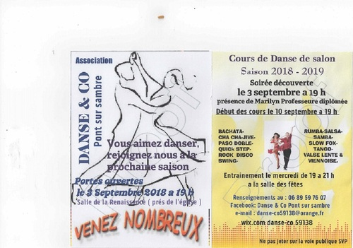Apprendre à danser à Pont sur sambre