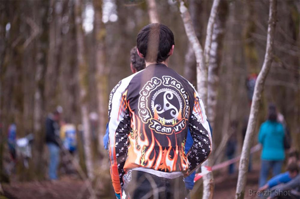 VTT Roches-du-Diable - Spectateur après l'épreuve