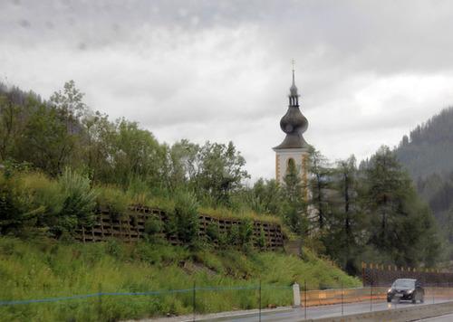 2- traversée de l'Allemagne et de l'Autriche