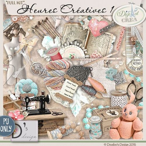 Heures Créatives 1& 2 by DOUDOU'S DESIGN