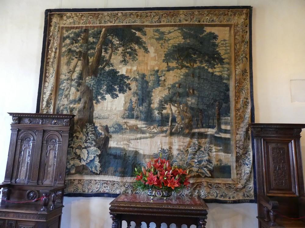 Le Château Royal d'Amboise : les appartements et la salle de musique...