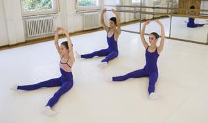 dance ballet class barre floor