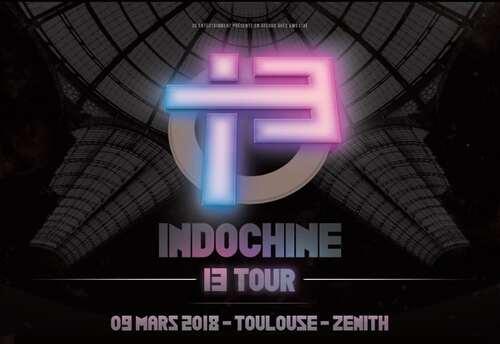 Indochine en concert le 9 mars 2018 à Toulouse