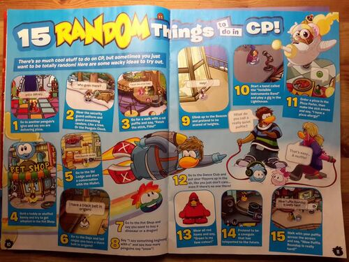 Club Penguin MAGAZINE n°37 / NOVEMBRE