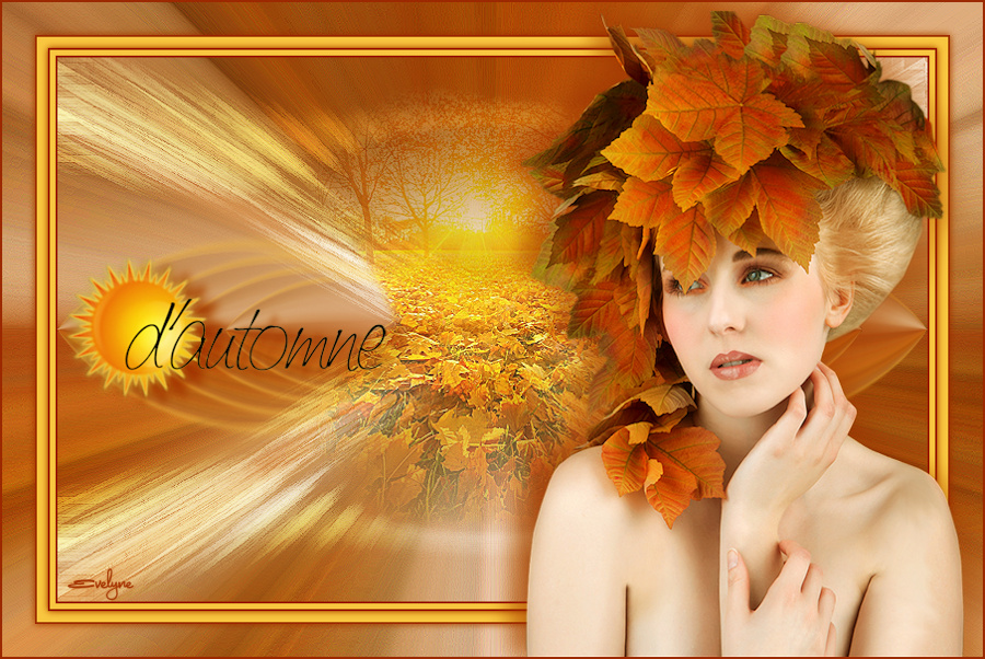 Vos versions Soleil d'automne