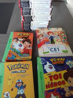 Collections livres 7 ans
