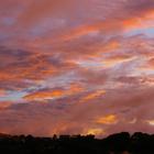 Coucher de soleil sur le Gros-Morne - Photo : Hervé