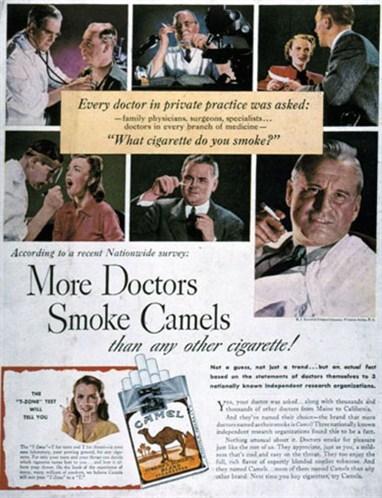 Fumer et boire... c'est bon pour la santé !!!! Que pense l'hôpital universitaire St. Luc de ces publicité
