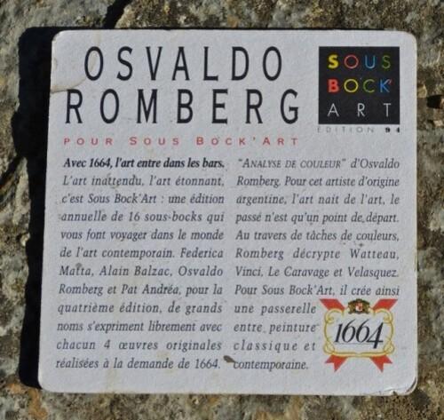 sous-bock' art 1664 Romberg 0