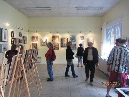Une exposition, deux atmosphères