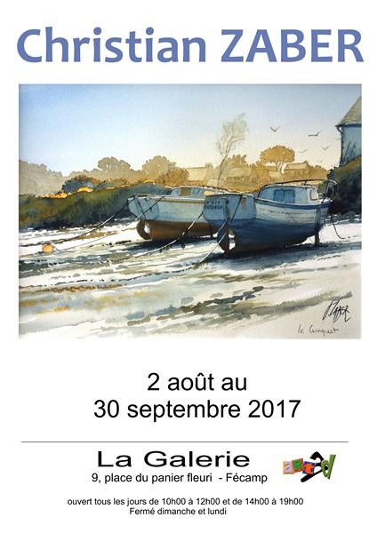 847 - Exposition d'été de l'aquarelliste Christian Zaber !