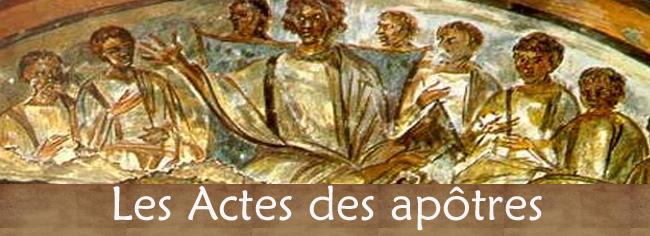Mieux comprendre les Actes des apôtres