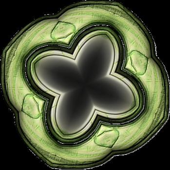Cadres en bois série 7,lazure verte