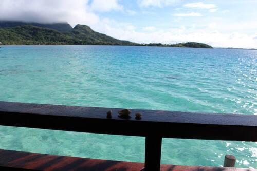 zen sur le lagon