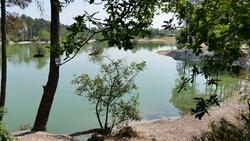 Lac bleu 5 juin