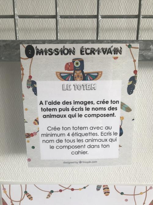 Missions écrivain 4H