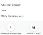 Tuto ouvrir un document + importer une image avec canva