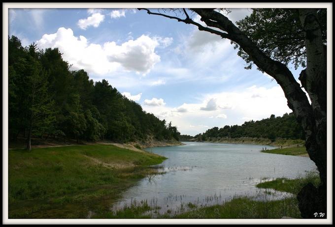 Lac en Provence