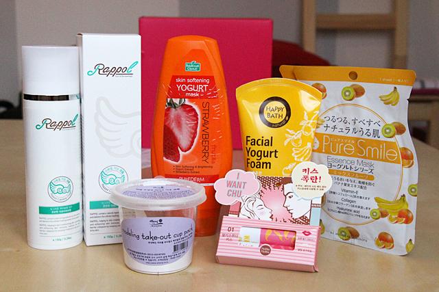 [Unboxing] Superbox #56 - Yogurt cosmetics : une box gourmande ?