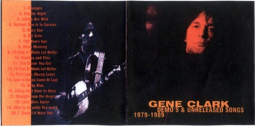 Un folkeux : Gene Clark - Demos and Outtakes