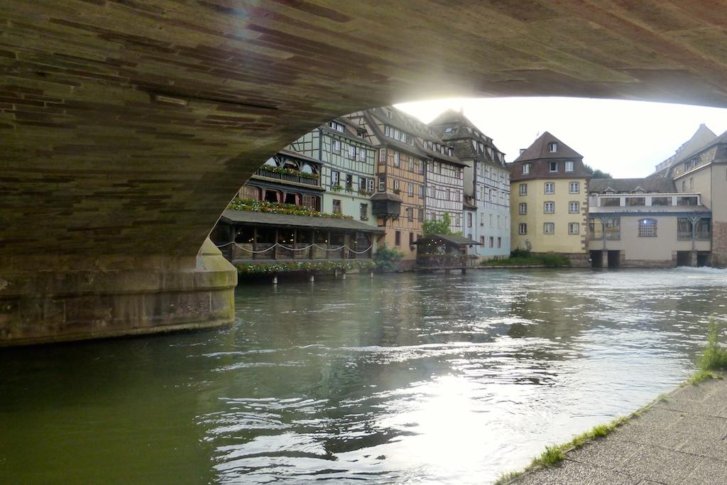 Strasbourg en allant vers la Petite France!