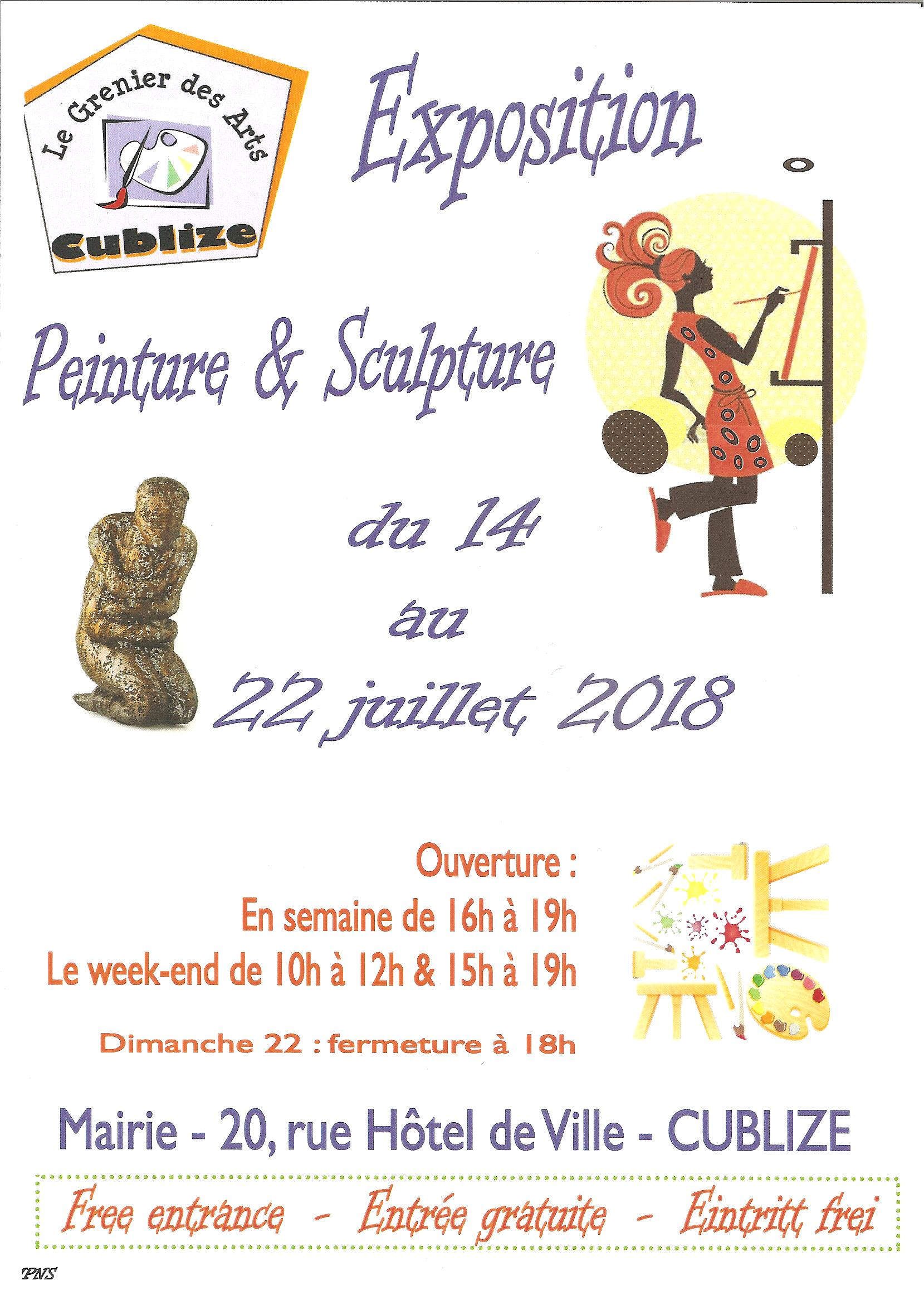 AGENDA / EXPOSITIONS / ANIMATIONS 2018
