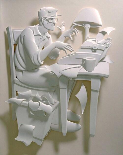Création faite en papier