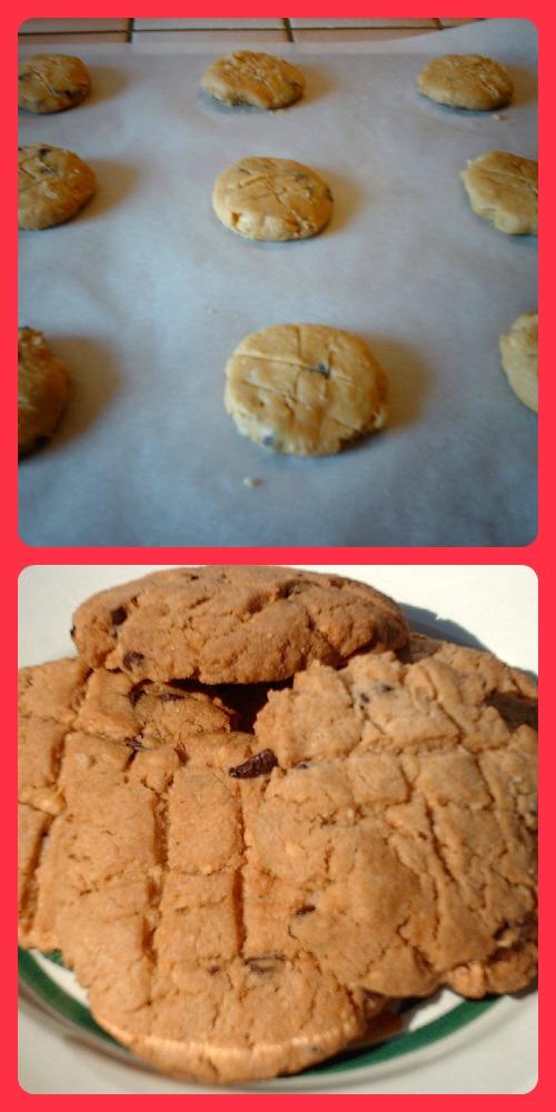 Les cookies chocahouétes