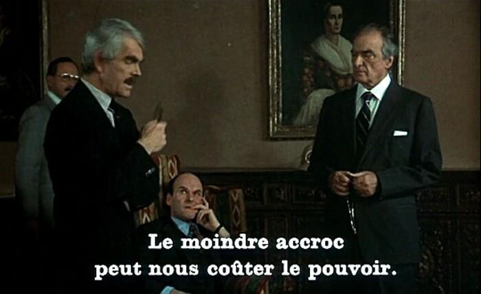JEAN PAUL BELMONDO-JEAN ROCHEFORT- L'HERITIER - 1973
