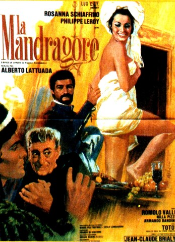 LA MANDRAGORE BOX OFFICE 1966