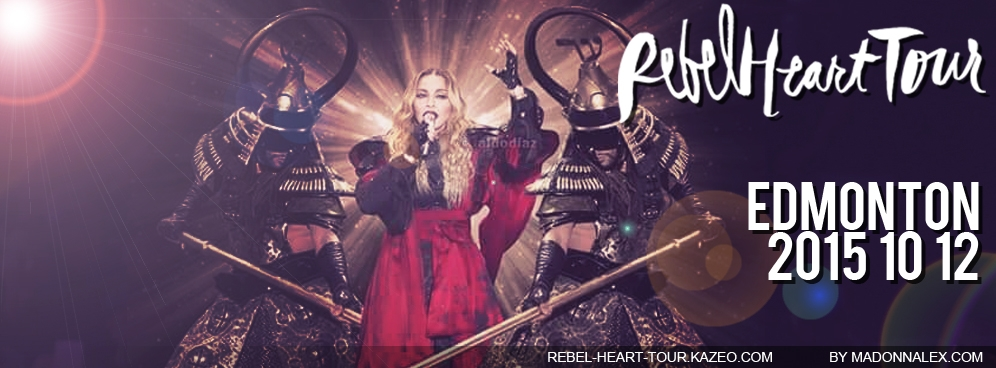Madonna - The Rebel Heart Tour Edmonton 20151012