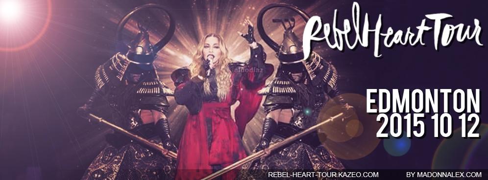 Madonna - The Rebel Heart Tour Edmonton 20151012