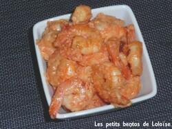 recette crevettes indiennes