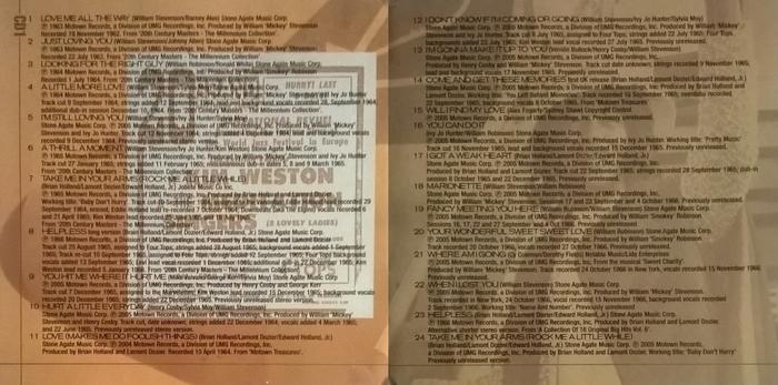 "Kim Weston : CD "" The Motown Anthology "" Motown Records 983 160-5 [ UK ]"