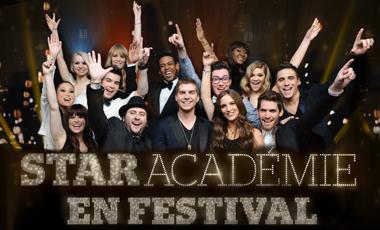Star Académie à Festivent Ville de Lévis le 3 août !