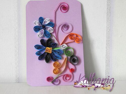 Quilling avril 2018