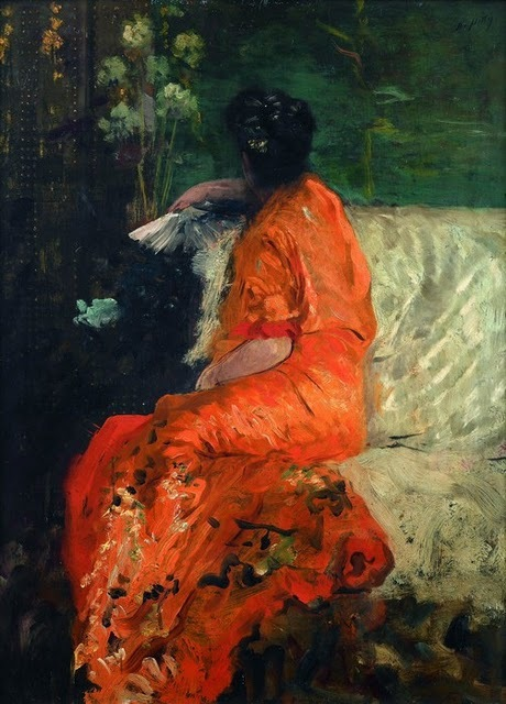 Samedi - le tableau du samedi : Couleur orange dans l'art