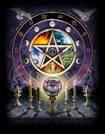 Divination et Wicca