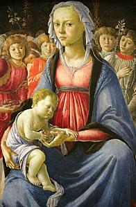 botticelli vierge enfant gr
