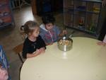 Réalisation de la compote de pommes